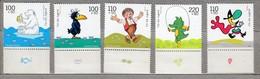GERMANY BRD 1999 Children Fales MNH(**) Mi 2055-2059 #21770 - [7] Federal Republic