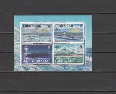 Gibraltar 1995 Michel Block 22 Ships WWII S/s MNH - Gibraltar