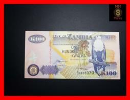 ZAMBIA 100 Kwacha 1992 P. 38 B   UNC - Zambia