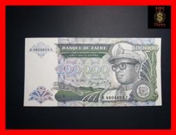 ZAIRE 100.000  100000 Zaires 4.1.1992  P. 41  UNC - Zaire