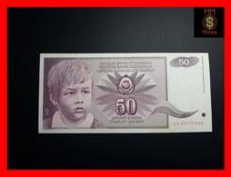 YUGOSLAVIA 50 Dinara 1.6.1990  P. 104  XF - Jugoslawien