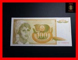 YUGOSLAVIA 100 Dinara 1.3.1990  P. 105  UNC - Jugoslawien