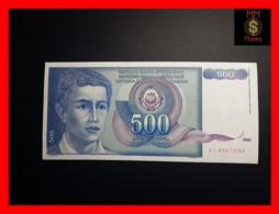 YUGOSLAVIA 500 Dinara 1.3.1990  P. 106  XF - Jugoslawien