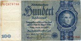 Allemagne Germany 100 Mark 24 Juni 1935 ( 1941 - 1942 ) P 183a - [ 4] 1933-1945: Derde Rijk