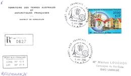 (TAAF) >2000-N°286  KERGUELEN  6 AOUT 2000 - Französische Süd- Und Antarktisgebiete (TAAF)