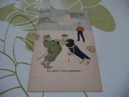 CPA Illustrée Guerre Russo Japonaise Tirage Avant 1906 - Andere Kriege
