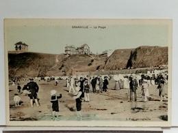 50 - GRANVILLE - LA PLAGE - ANIMÉE - PUEL Phot. - Granville