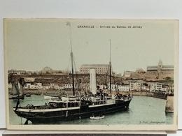 50 - GRANVILLE - ARRIVÉE DU BATEAU DE JERSEY - PUEL Phot. - Granville