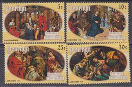 Penrhyn N° 56 / 59 XX  Noël : Tableaux Les 4 Valeurs  Sans Charnière  TB - Penrhyn