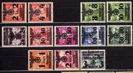 Generalgouvernement Mi 17-18; 20-29 * [23052020XIX] - Occupation 1938-45