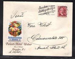 DR. Reklame-Brief, Reichsgartenschau, Dresden. - Allemagne