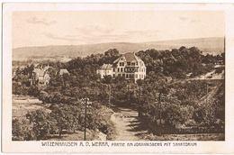 AK Witzenhausen, Partie Am Johannisberg Mit Sanatorium Um 1910 - Witzenhausen