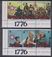 Penrhyn N° 71 / 76 XX  Bicentenaire De L'Indépendance Des Etats-Unis  Les 6 Valeurs  Sans Charnière  TB - Penrhyn