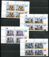Ciskei Mi# 75-8 Zylinderböcke Postfrisch/MNH Controls - Youth Year - Ciskei