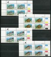Ciskei Mi# 70-3 Zylinderböcke Postfrisch/MNH Controls - Fauna Fish - Ciskei