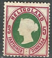 1875 Heligoland - 3p +5pf  - Lot. 4770 - Helgoland