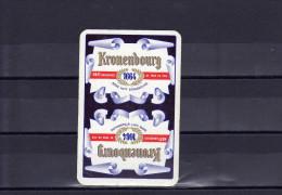 Dos D'une Carte à Jouer De La Brasserie Kronenbourg - Speelkaarten