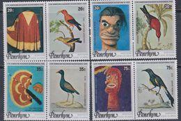 Penrhyn N° 89 / 96 XX Bicentenaire De La Découverte Des Iles Hawaii  Les 8 Valeurs Se Tenant 2 Par 2 Sans Charnière  TB - Penrhyn