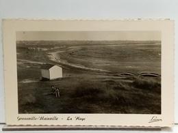 50 - GONNEVILLE BLAINVILLE - LA PLAGE - ANIMÉE - ENFANT - CHIEN - Ed LUCIEN - Blainville Sur Mer