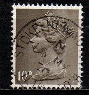 Gran Bretagna - Machin: Queen Elizabeth II -10 D Predecimal Machin - 1952-.... (Elizabeth II)