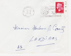 France  Marianne De Cheffer Issue De Carnet Avec Date D'impréssion 1967 TB - Carnets