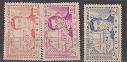 GUINEE  N°  YVERT  :  148/50          NEUF AVEC  CHARNIERES      ( CH   3 / 26 ) - Guinée Française (1892-1944)