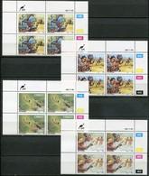 Ciskei Mi# 123-6 Zylinderblöcke Postfrisch/MNH Controls - Fairytales, Story, Folklore - Ciskei