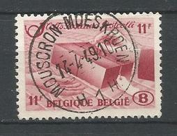 TR 302 Gestempeld MOUSCRON MOESKROEN H 1 H - Chemins De Fer
