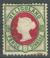1875 Heligoland - 1.1/2p +10pf  - Lot. 4772 - Helgoland