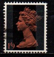 Gran Bretagna - Machin: Queen Elizabeth II -1'9 S Predecimal Machin - 1952-.... (Elizabeth II)