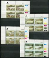 Ciskei Mi# 149-52 Zylinderblöcke Postfrisch/MNH Controls - Dams - Ciskei