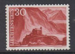 Liechtenstein 1959 Freimarke / 30Rp Burg Gutenberg 1v ** Mnh (47754C) - Ungebraucht