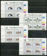 Ciskei Mi# 220-3 Zylinderblöcke Postfrisch/MNH Controls - Farming Machines - Ciskei