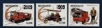 """Monaco YT 2658 à 2660 """" Sapeurs-pompiers """" 2009 Neuf** - Unused Stamps"""