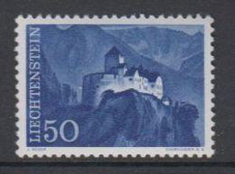 Liechtenstein 1959 Freimarke / 50Rp Schloss Vaduz 1v ** Mnh (47755A) - Ungebraucht
