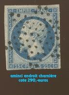 15 Ø étoile.  25c. Aminci  . Cote 290,-euros Minimum - 1853-1860 Napoleone III