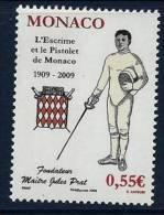 "Monaco YT 2675 "" L'Escrime "" 2009 Neuf** - Unused Stamps"