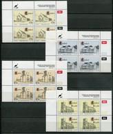 Ciskei Mi#  238-41 Zylinderblöcke Postfrisch/MNH Controls - Church Buildings - Ciskei