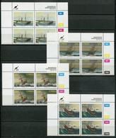 Ciskei Mi#  246-9 Zylinderblöcke Postfrisch/MNH Controls - Shipwrecks - Ciskei