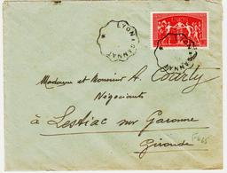 France, Convoyeur Ligne  Lyon à Gannat  Sans Bloc Dateur ( Environs Des Années 1955) TB - Poste Ferroviaire