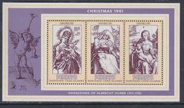 Penrhyn BF N° 34   XX  Noël, Le Bloc  Sans Charnière,  TB - Penrhyn