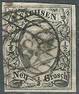 1851 Sachsen - 1/2 G  - Lot. 4780 - Saxony