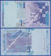 MALAYSIA 1 RM 1998 ABDUL RAHMAN  And MALAYSIAN SEASHORE - Malaysie