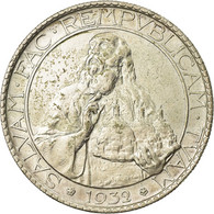 Monnaie, San Marino, 20 Lire, 1932, Rome, SPL, Argent, KM:11 - San Marino