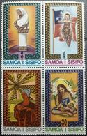141.SAMOA 1975 SET/4 STAMP CHRISTMAS  .  MNH - Samoa