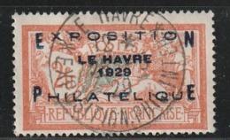 France N° 257A Congrés Du Havre Oblitération Centrale Parfaitement Lisible - Usati