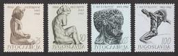 Yugoslavia 1963 80 Years Anniversary Ivan Mestrovic Sculptor Art Famous People, Set MNH - 1945-1992 Sozialistische Föderative Republik Jugoslawien