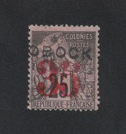 Timbre Obock N° 29 35 Sur 25 C Alphée Dubois Oblitéré - Gebraucht