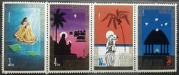 141.SAMOA 1973 SET/4 STAMP CHRISTMAS  .  MNH - Samoa