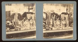 Stereoview - Chinese Display, Oxford Museum England C.1890s - Visionneuses Stéréoscopiques